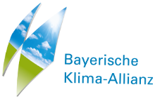 Logo Klima-Allianz Bayern + Link zur Website